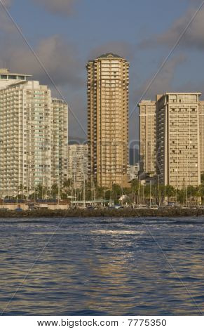 Waikiki Buildings
