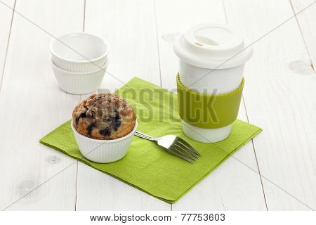 Muffin With Mug