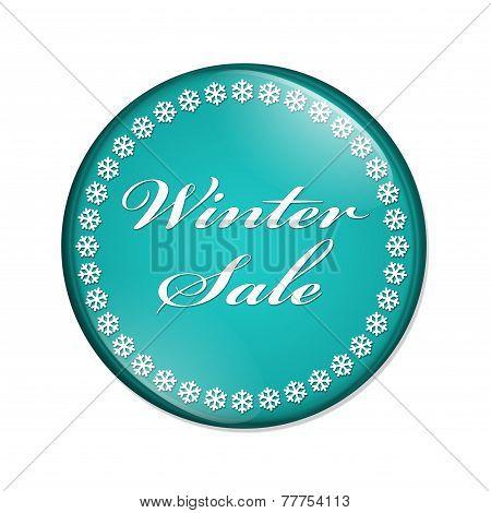 Winter Sale Button