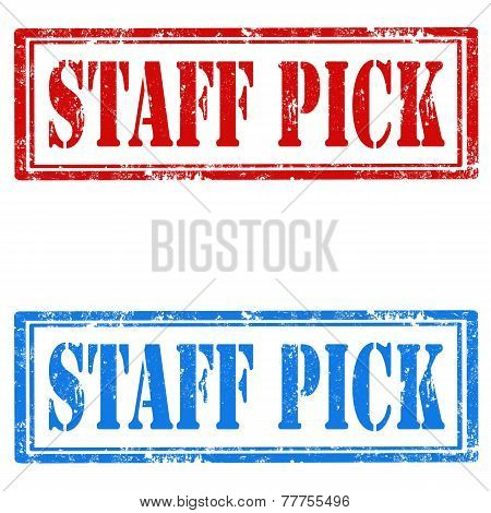 Staff Pick-stamps
