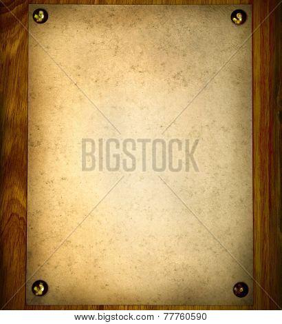 Vintage Notice Board