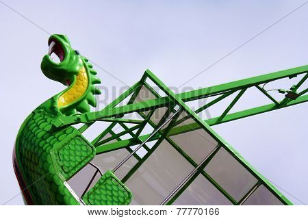 Sea Serpent at Amusement Park