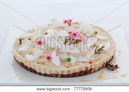 Raw Vegan Coconut Tart