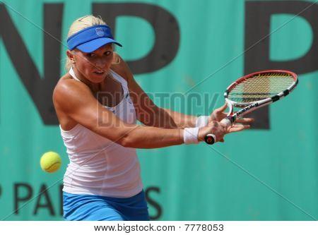 Michaella Krajicek (ned) At Roland Garros 2010