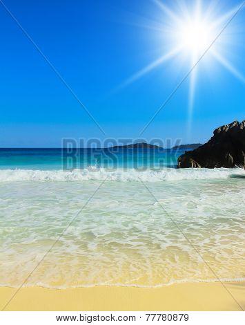 Getaway Scene Ocean Seascape