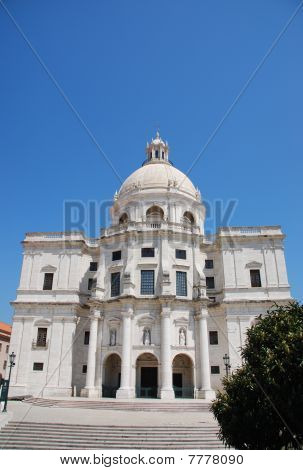Santa Engracia Church In Lisbon