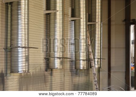 Ducts Of Industrial Ventilation System