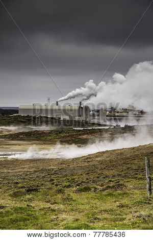 Icelandic Geothermal Power Station