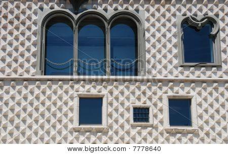 Casa Dos Bicos In Lisbon