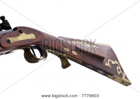 Flint Lock Rifle Stock