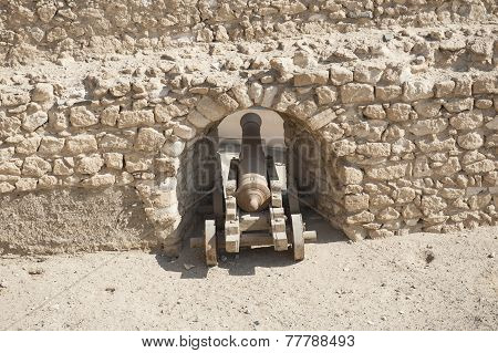 Old Canon At An Ottoman Fort