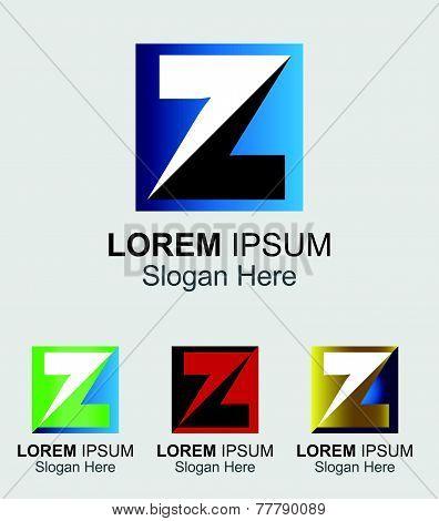 Letter Z logo design template letter Z icon