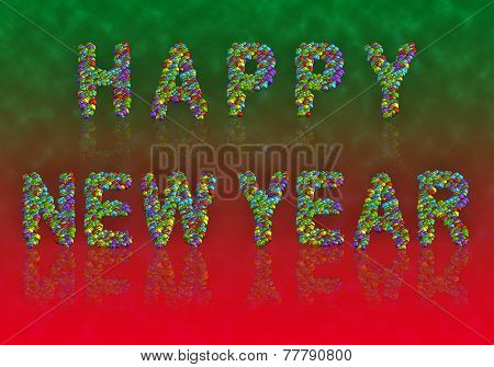 3D Cubes - Happy New Year