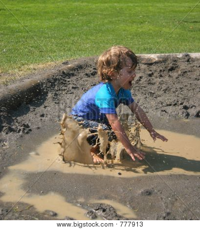 Mud Puddle Splash