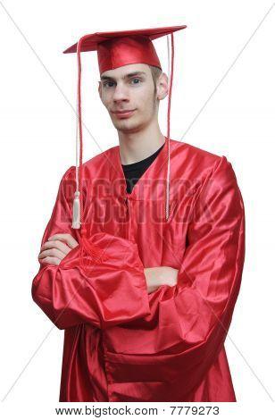 Young School Graduate