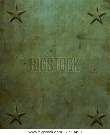 Star Rivets Grunge Background