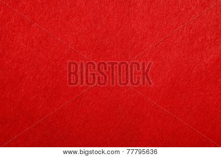 Red Fabric background with smooth surface