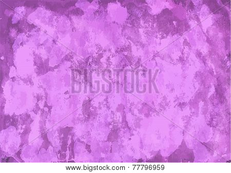 Light Purple Watercolor Background