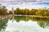 picture of royal palace  - Royal Palace of Aranjuez a residence of the King of Spain Aranjuez Community of Madrid Spain. UNESCO World Heritage ** Note: Soft Focus at 100%, best at smaller sizes - JPG