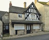 stock photo of old post office  - Westhaven House New Street Painswick