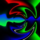 stock photo of hallucinogens  - Abstract crazy colorful shapes as unusual background - JPG