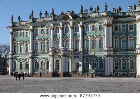 Winter Palace residence of Russian tsars