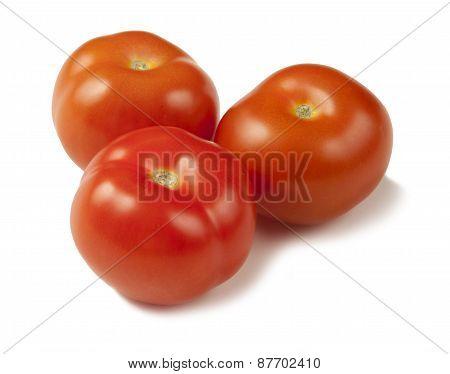 Fresh Ripe Clean Tomatoes