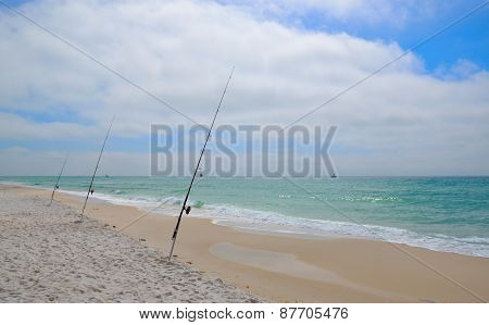 Fishing on Florida coast beaches