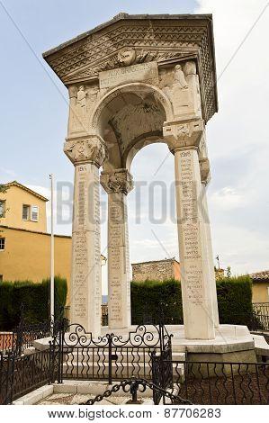 Grasse War Memorial