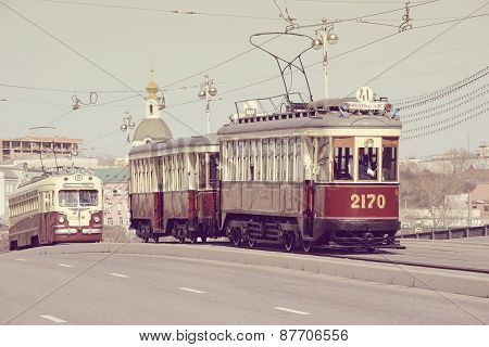 Vintage Trams Goes To The Depot.