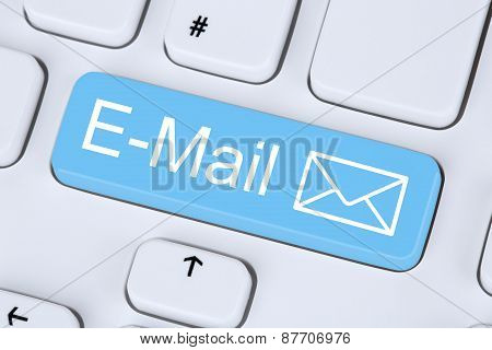 Sending E-mail Message Via Internet On Computer