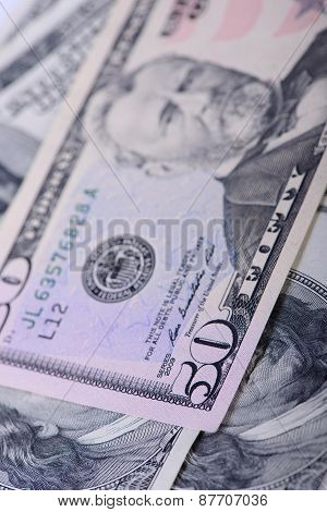Fifty Dollars Banknotes