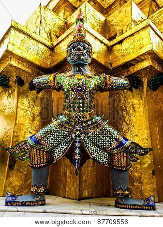 Thai Temple Warrior