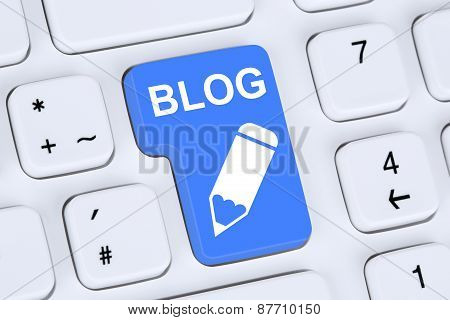 Blog Writing Online On The Internet Computer