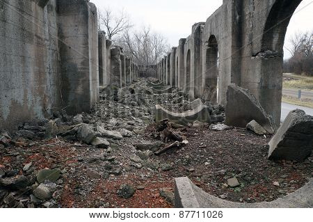 Ruins of Joliet Ironworks, Joliet, Illinois