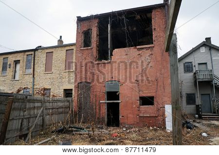 Abandoned Building in Joliet, Illinois