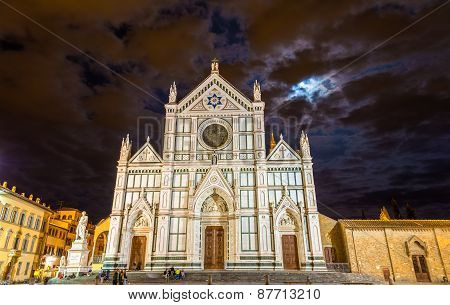 Basilica Of Santa Croce In Florence - Italy