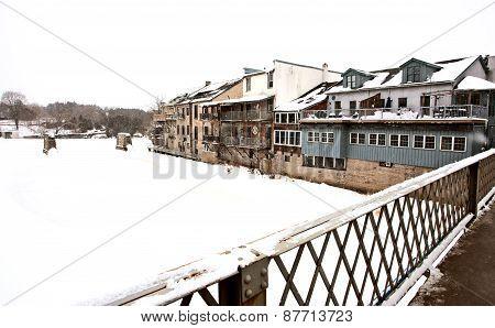 Elora Ontario In Winter