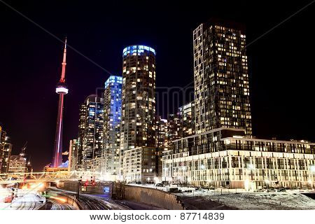 Night Shot Toronto