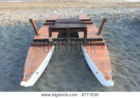 Rescue lifeguard boat