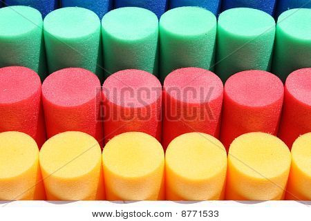 Colorful cylinders