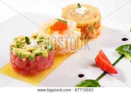 Tartar with tuna fish