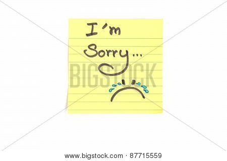 l'm sorry