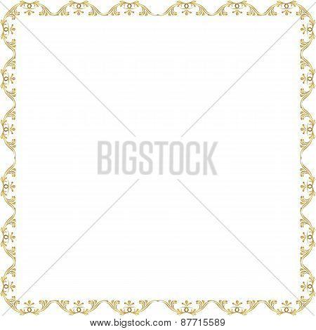 Ornamental Vector Frame
