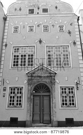 Old Buildind In Riga.