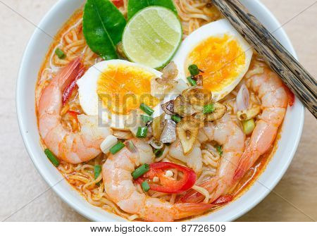 Thai Style Noodle, Tom Yum Kung