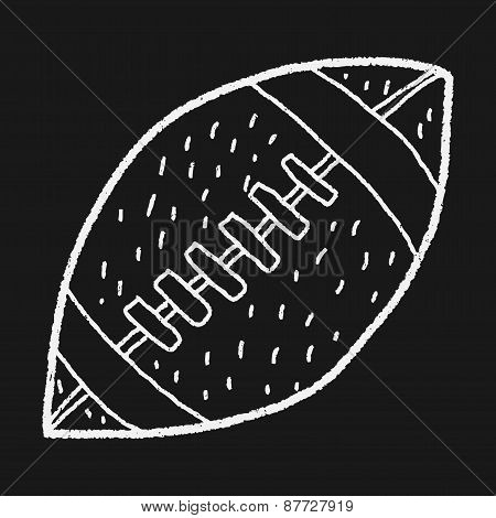 Football Doodle Drawing