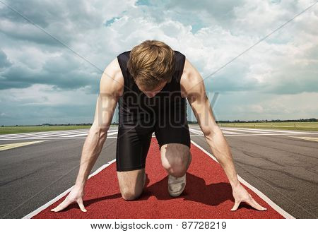 Runner Start Position Runway