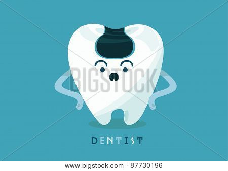 Carious of tooth
