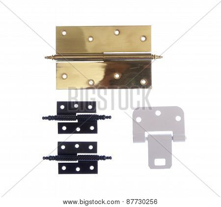 Different Modern And Vintage Hinges